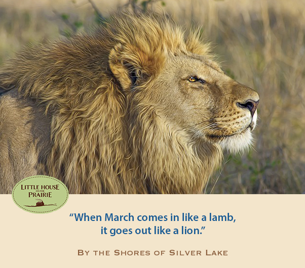 March out like a lion