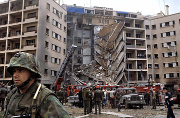 US Embassy Bombing Beirut 04181983