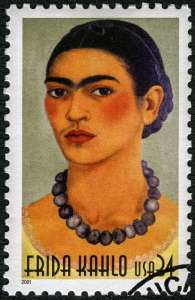 Frida Kahlo stamp