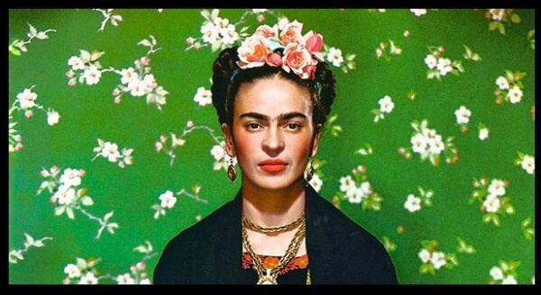 FridaKahlo Green Wallpaper