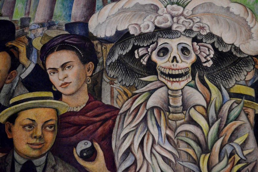 Diego Rivera Dreams of a Sunday afternoon
