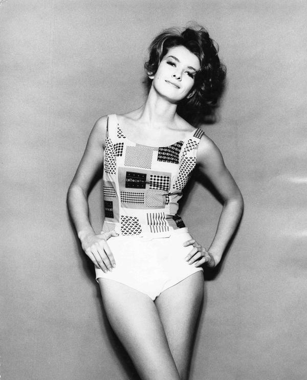 Martha Stewart 1960s Fashion Model
