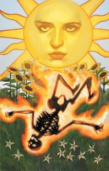 Sun Combusting