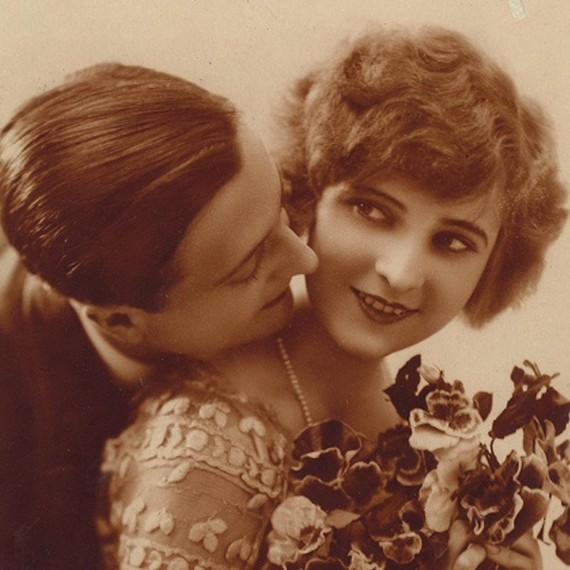 Zelda and F. Scott Wedding Photo 1920