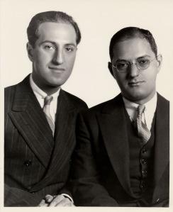 George and Ira Gershwin Portrait