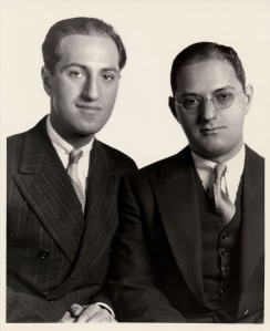 George and Ira Gershwin Portrait