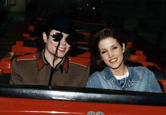 Michael and Lisa Marie take the roller coaster of Lonliness