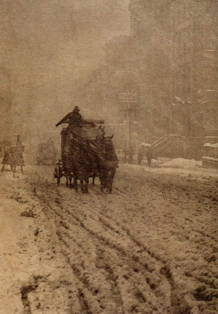 Alfred Stieglitz Winter - 5th Avenue 1893