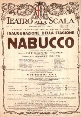 Nabucco Poster Premiere
