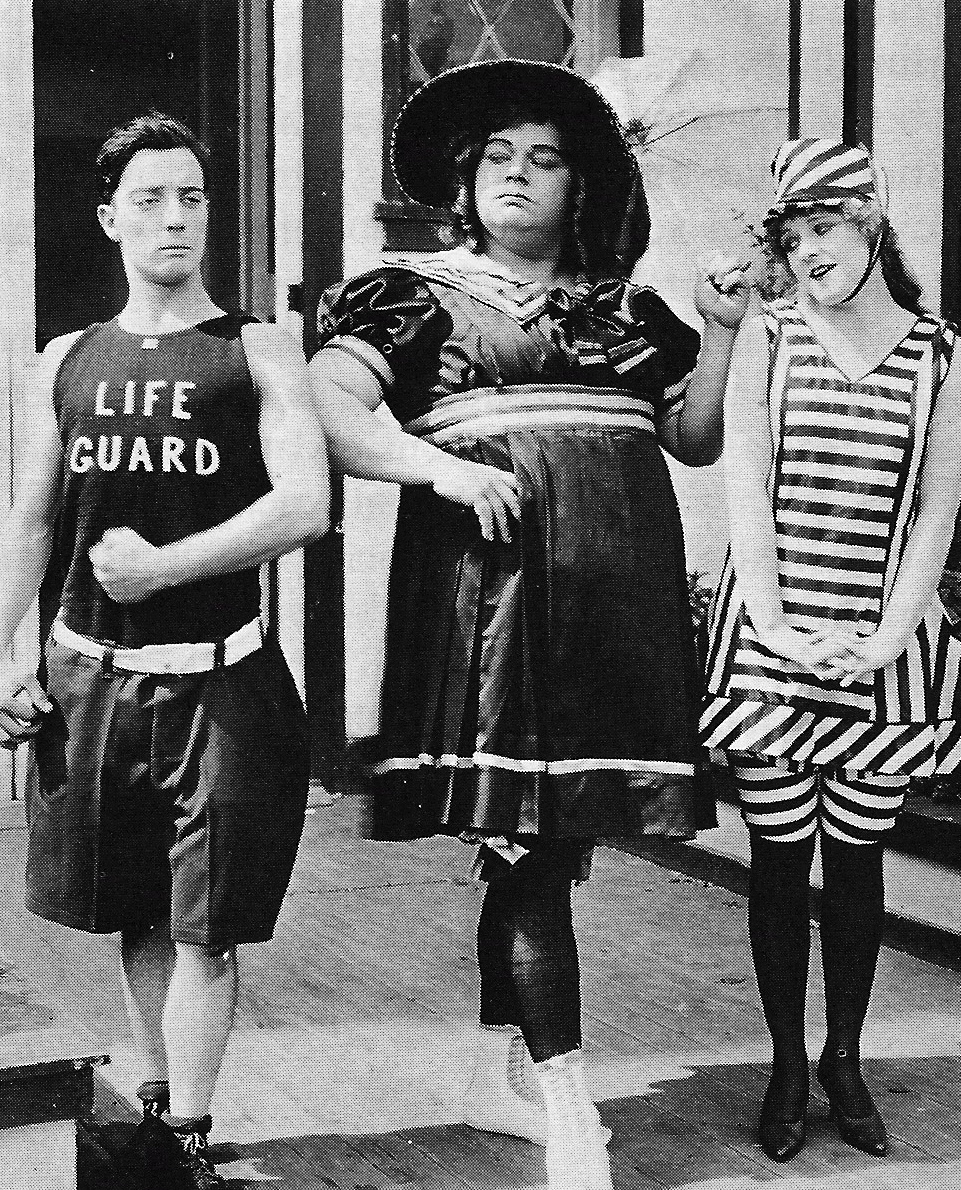 Fatty Arbuckle as Miss Fatty