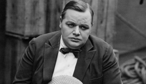 Fatty Arbuckle sad