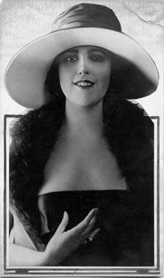 Virginia Rappe Hat and Fur