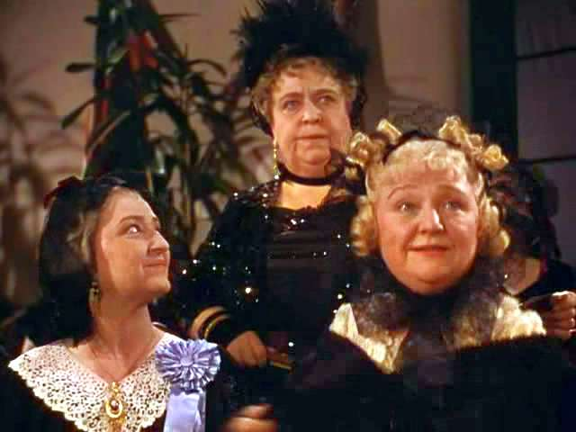 Aunt Pittypat, Mrs. Meade, and Dolly Merriwether