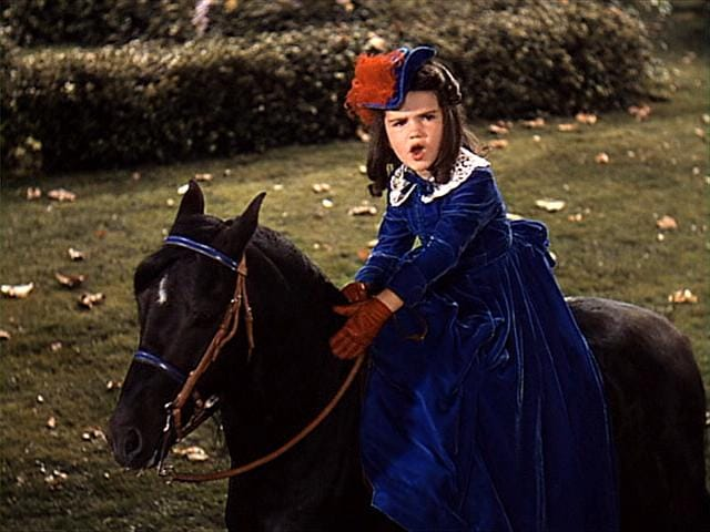 GWTW Bonnie Butler & Killer Pony
