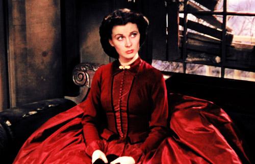 Scarlett red full dress