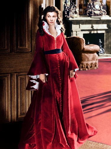 Scarlett red night robes