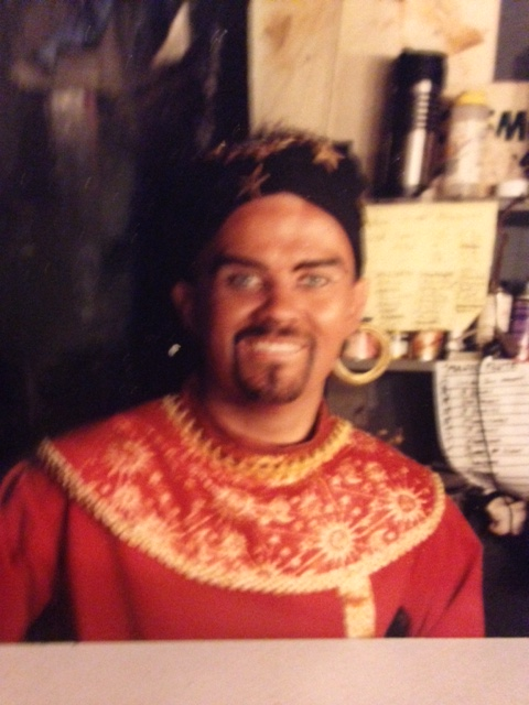Brad as Monostatos in Magic Flute