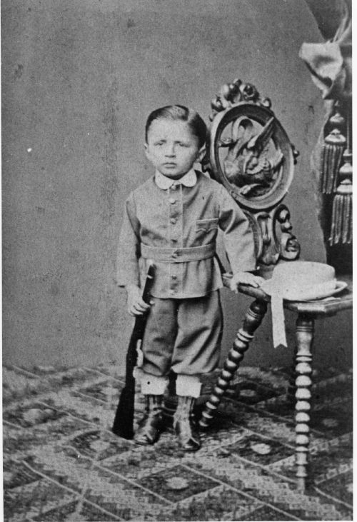 Fritz Haber at 3 years