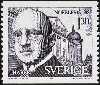 Fritz Haber Nobel Laureate