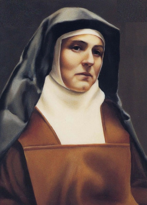 Edith Stein Carmelite Color