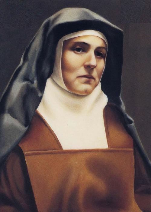 Edith Stein Carmelite Color