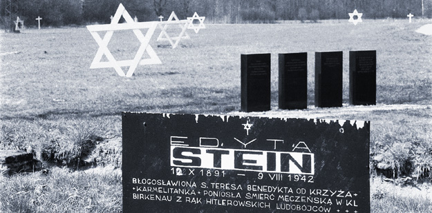 Edith Stein Grave Marker at Auschwitz