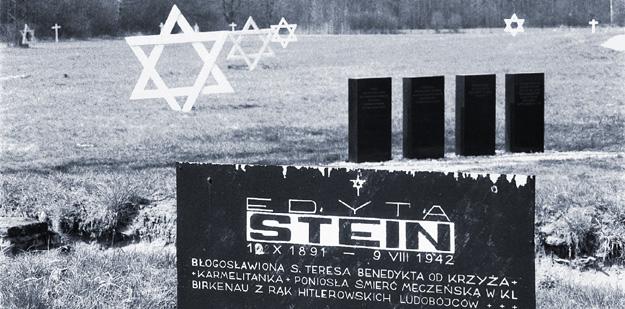 Edith Stein Grave Marker at Auschwitz