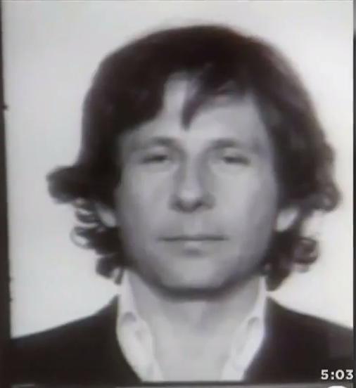 Roman Polanski 1977 Mug shot