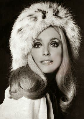 Roman Polanski Sharon Tate Fur Hat