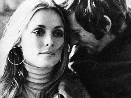 Roman Polanski Sharon Tate Private B&W