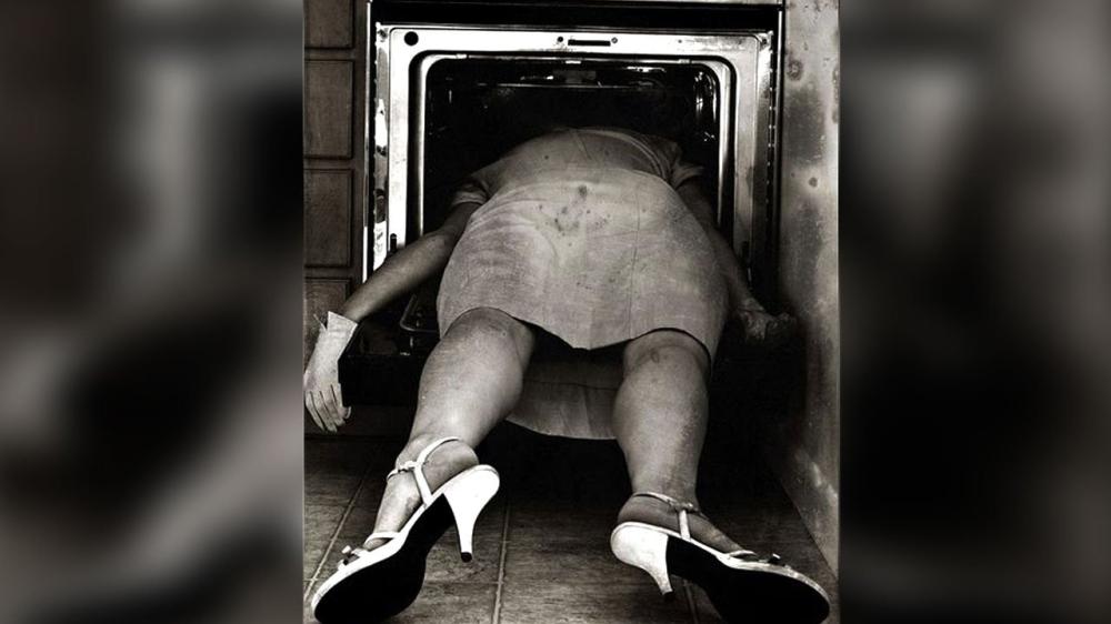 Sylvia Plath Oven shot