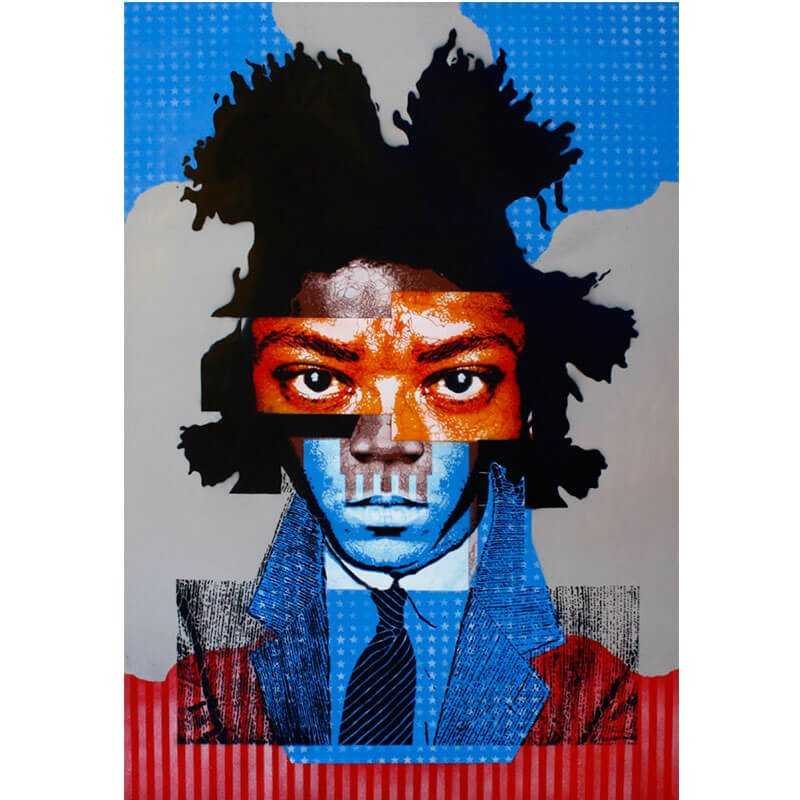 Basquiat Self Portrait
