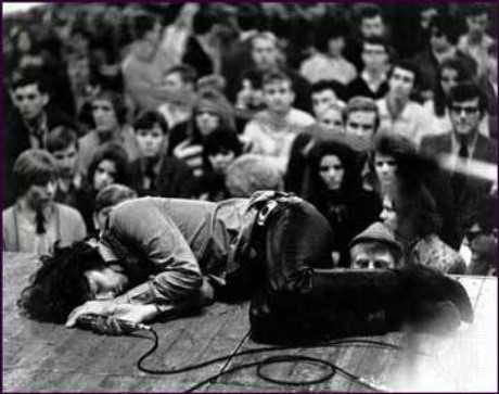 Jim Morrison Passed Out