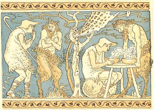 Silenus as satyr