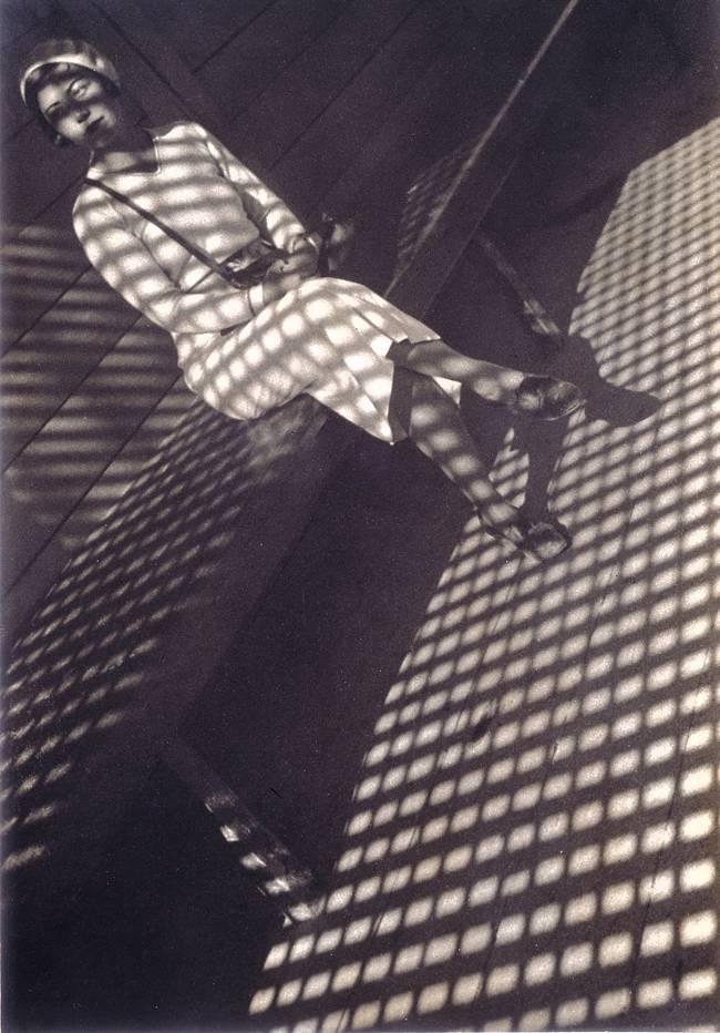 Alexander Rodchenko Girl with Leica 1933