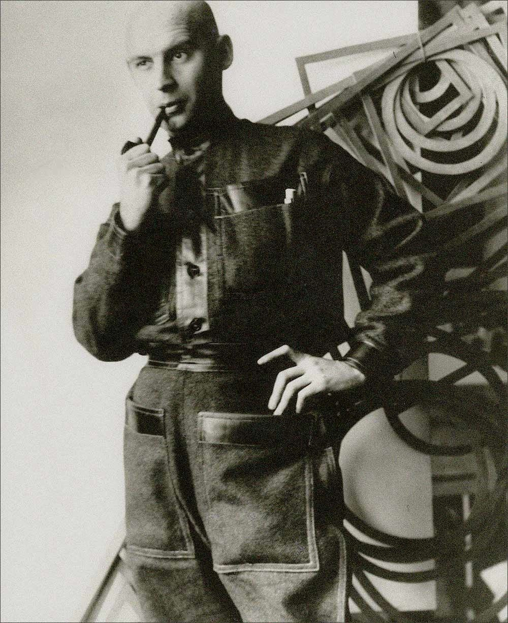 Alexander Rodchenko Self Portrait