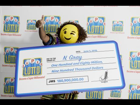 Lottery winner of Super Lotto Jackpot in Emoji mask 060818