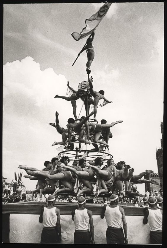 Rodchenko Dinamo or Female Pyramid 1936