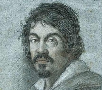 """A self portrait of the Renaissance painter whose epitaph read """"In painting not equal to a painter, but to Nature itself"""" taken by Caravaggio shortly before his death in 1610."""