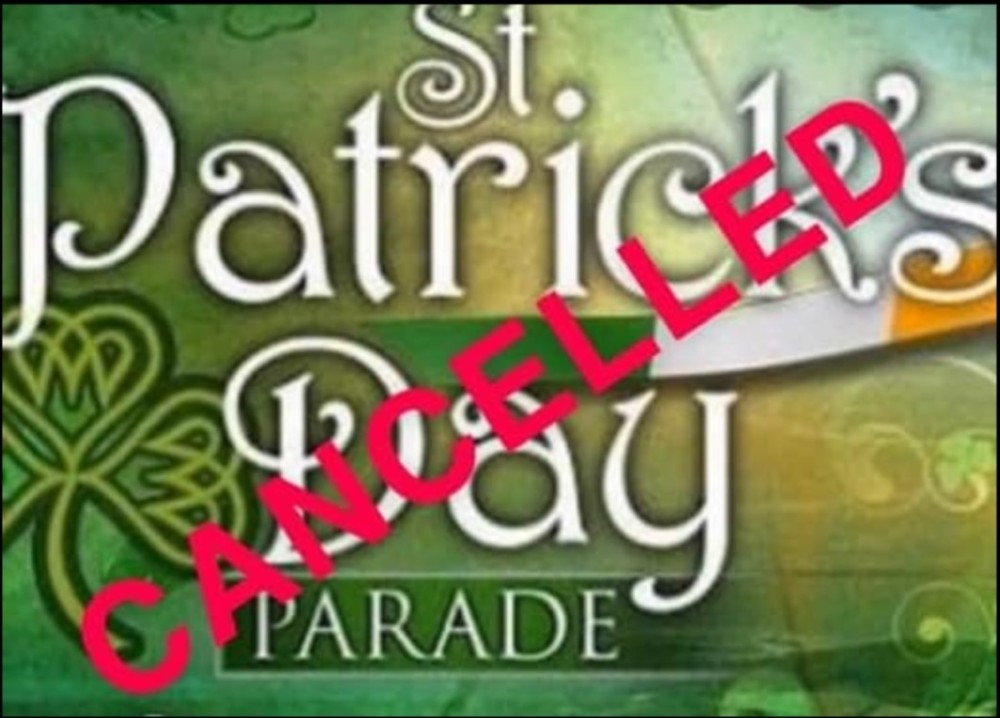 St. Patrick's Day Cancelled
